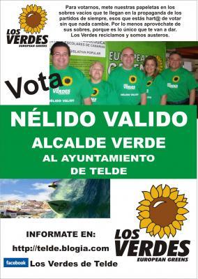 VOTA A LOS VERDES