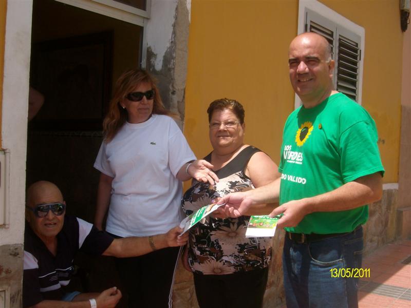 NÉLIDO VALIDO, candidato a la Alcaldía de Telde, sigue acercándose a la ciudadanía para presentar su proyecto verde.